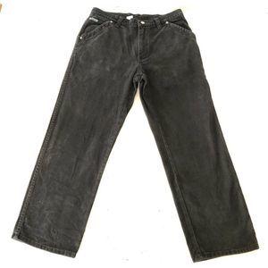 VTG Diesel Jeans Black Denim USA Size 36